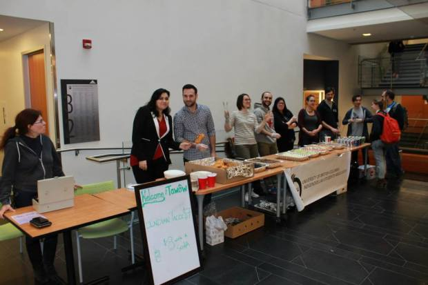 ILSA's annual Indian Taco sale was a highlight of this year's Indigenous Awareness Week.